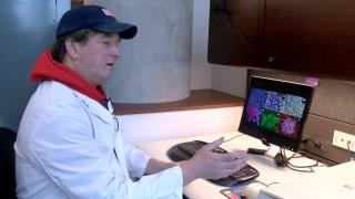 UC scientist, Daniel Hassett, explains patented treatment for pathogens