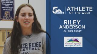 KOAA Athlete of the Week: Palmer Ridge's Riley Anderson