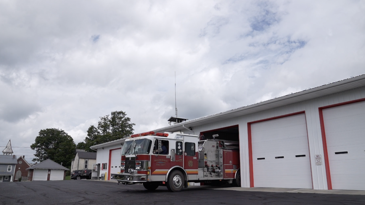 Every year on 9/11, the fire station in Shanksville, Pennsylvania opens its doors - ready to receive the loved ones of those on Flight 93.