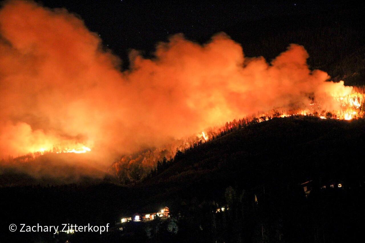 Ptarmigan fire_Sept 27-28 2021_by  Zach Zitterkopf