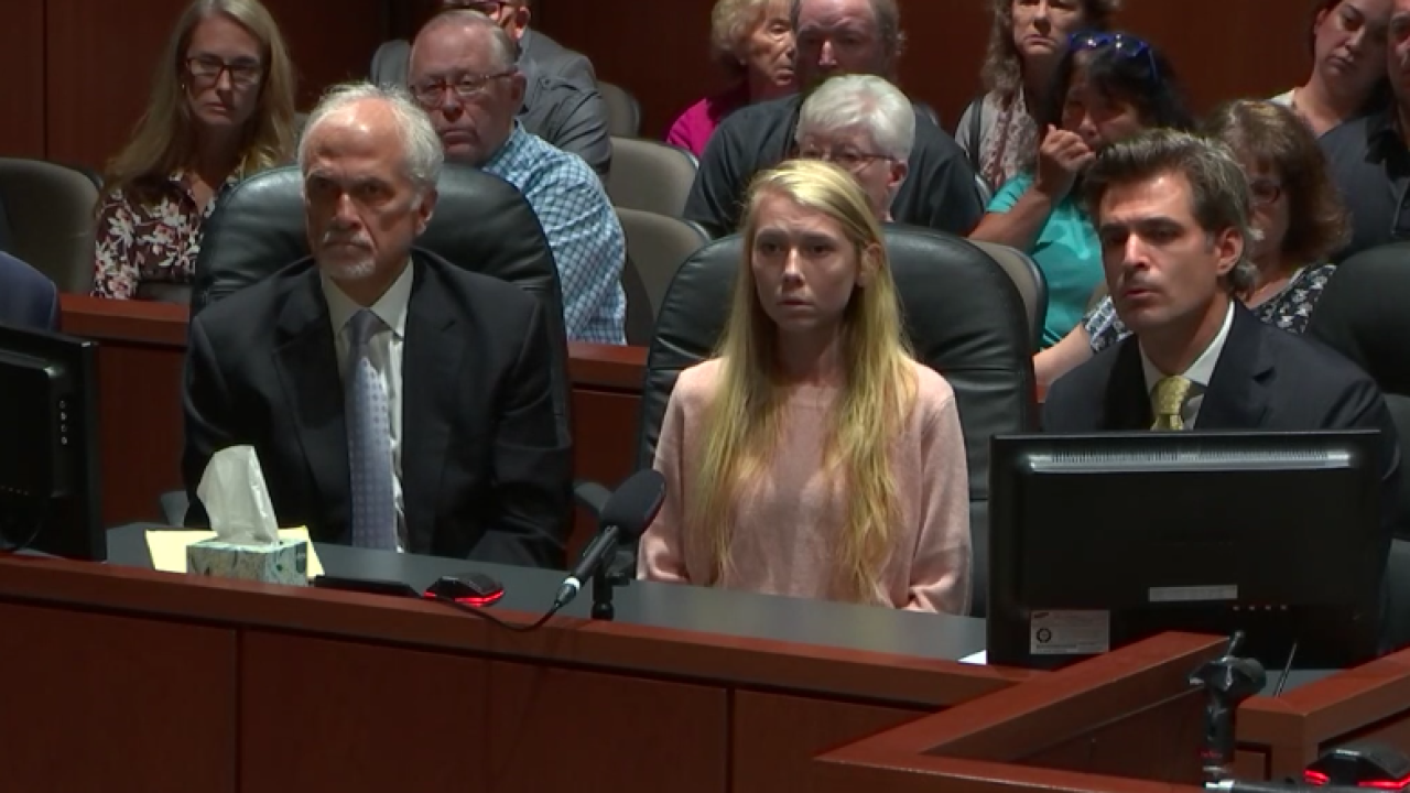 Brooke Skylar Richardson sentencing Sept. 13