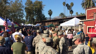 SB veterans day parade