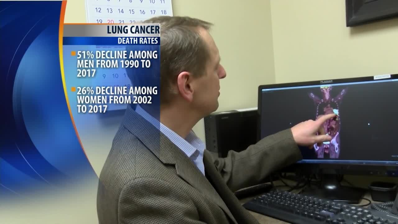 Cancer death rates continue to fall
