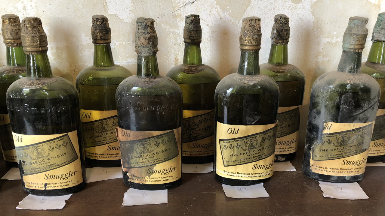Bootlegger alcohol found under floorboards of century-old house