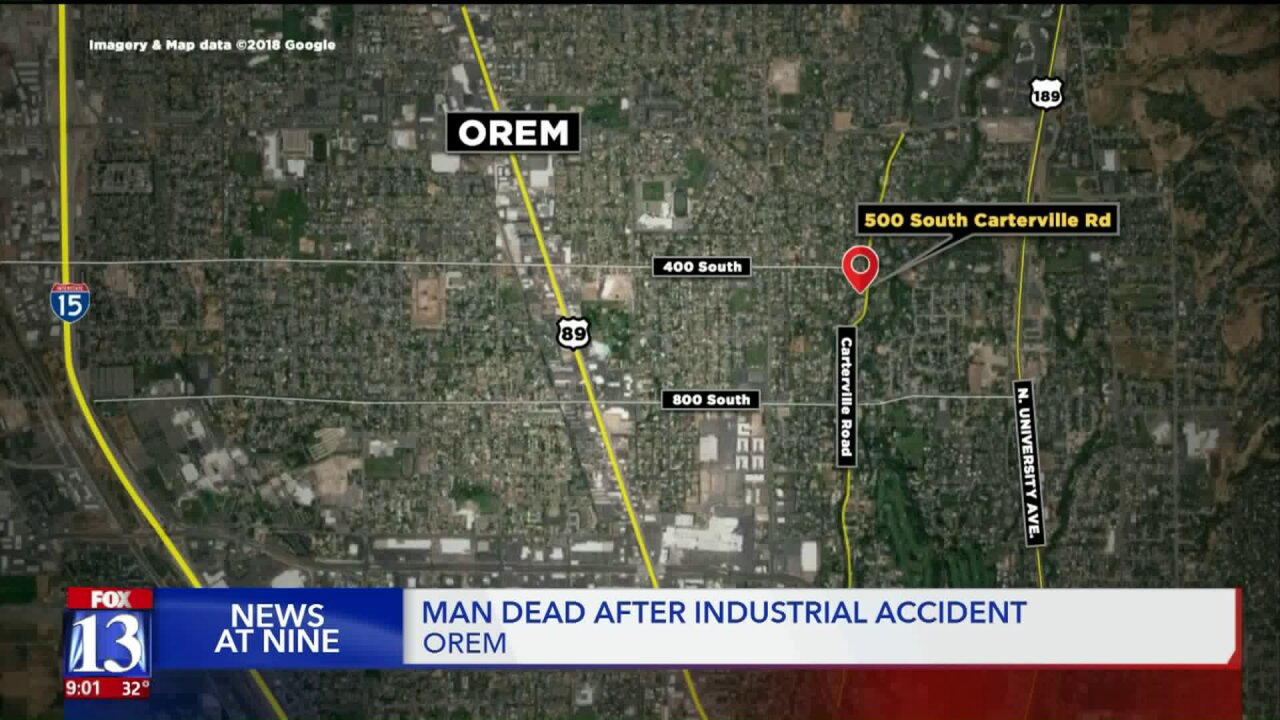 Police identify man who died while working on a dump truck inOrem