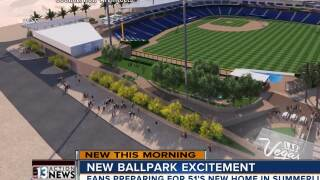 UPDATE: You can now reserve your spot at the new 51s Summerlin ballpark