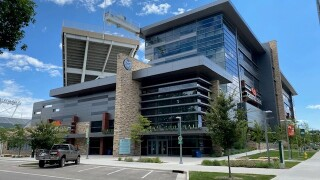 Canvas Stadium on CSU campus