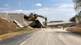 spring hill construction collapse