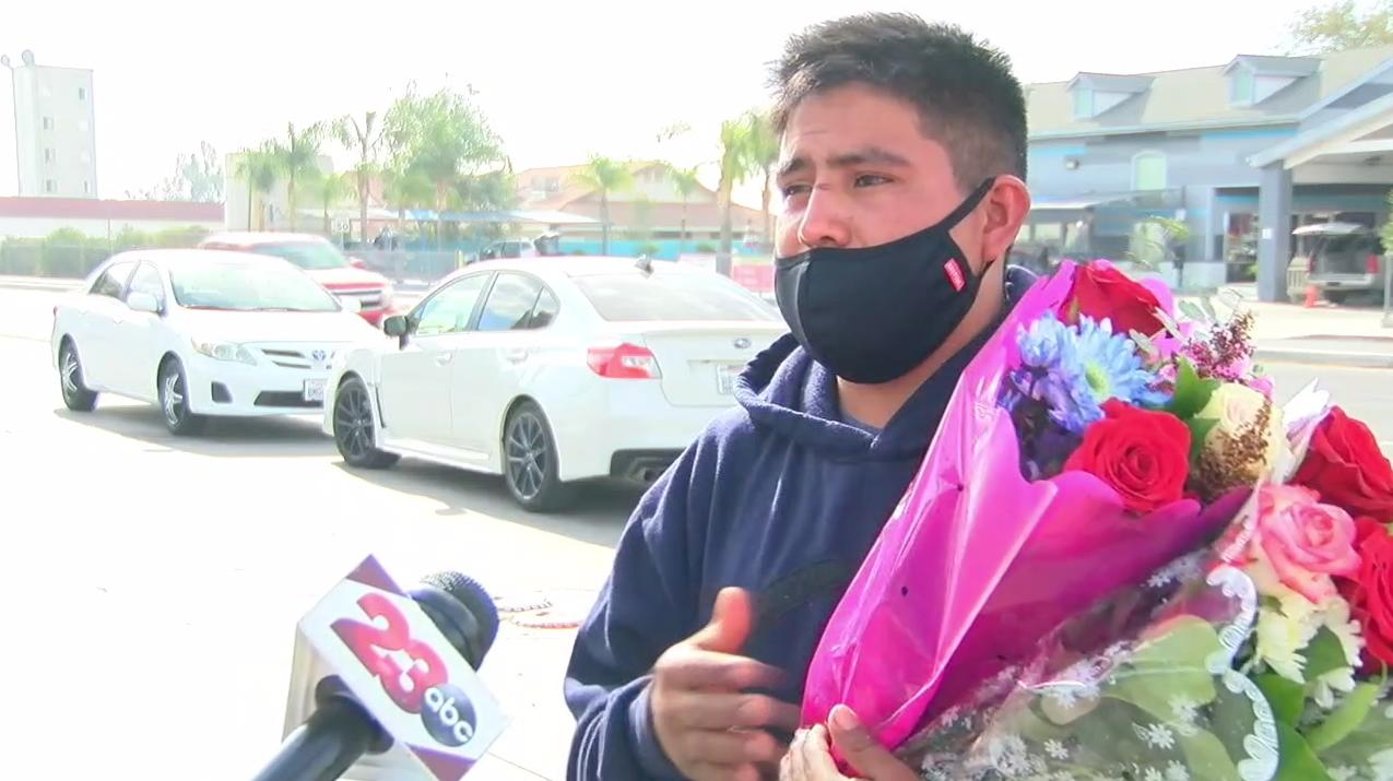 Flower Vendor Robbed