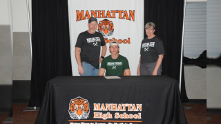After winning at state, Manhattan track star Wyatt Barney ready for career at Montana Tech