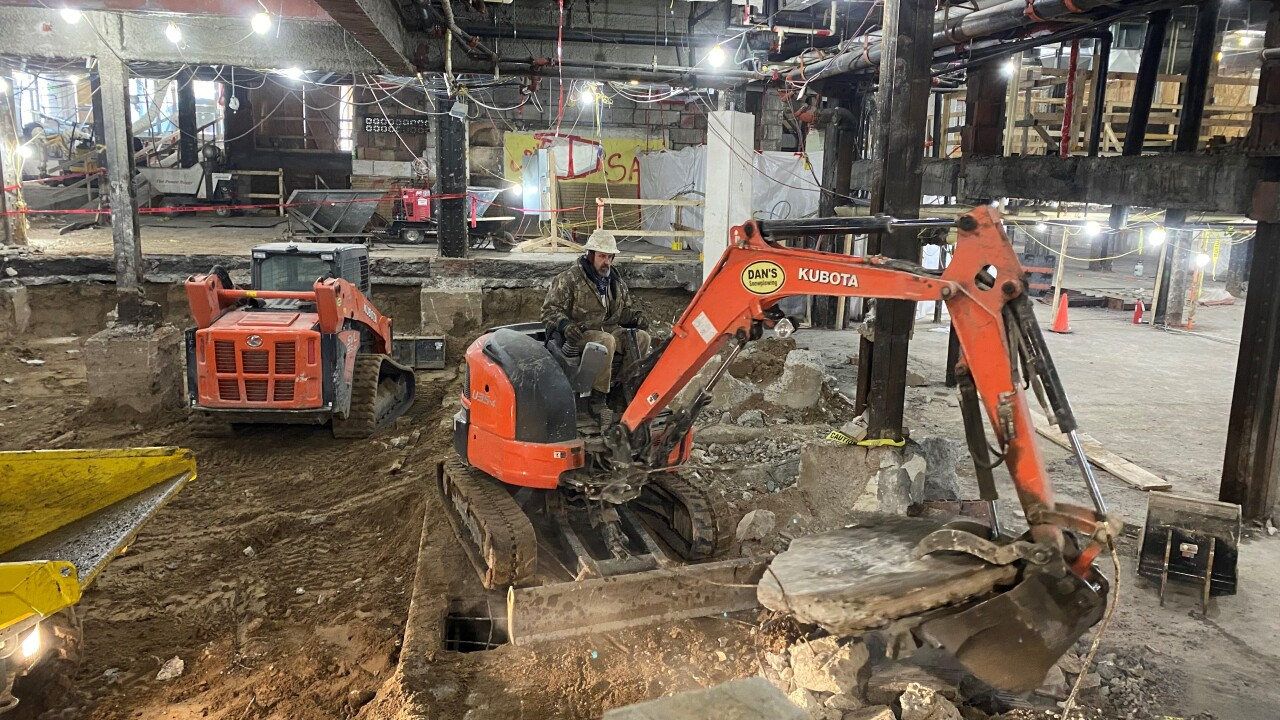 Statler basement construction 3