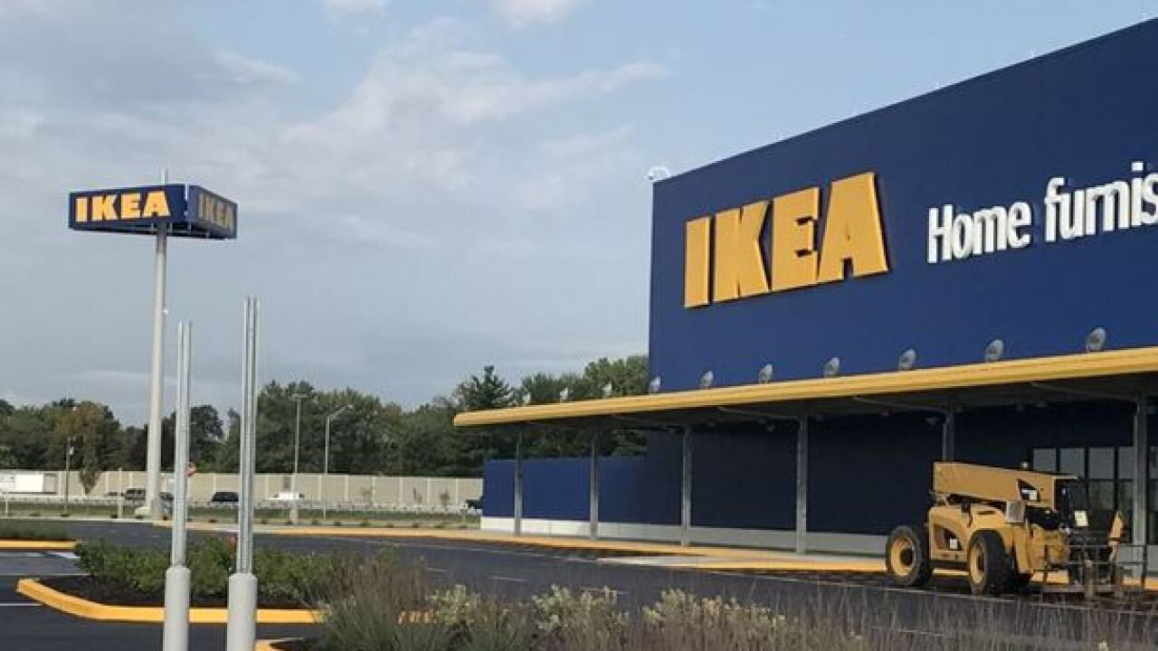 Child fires loaded gun found inside sofa at IKEA in Indiana