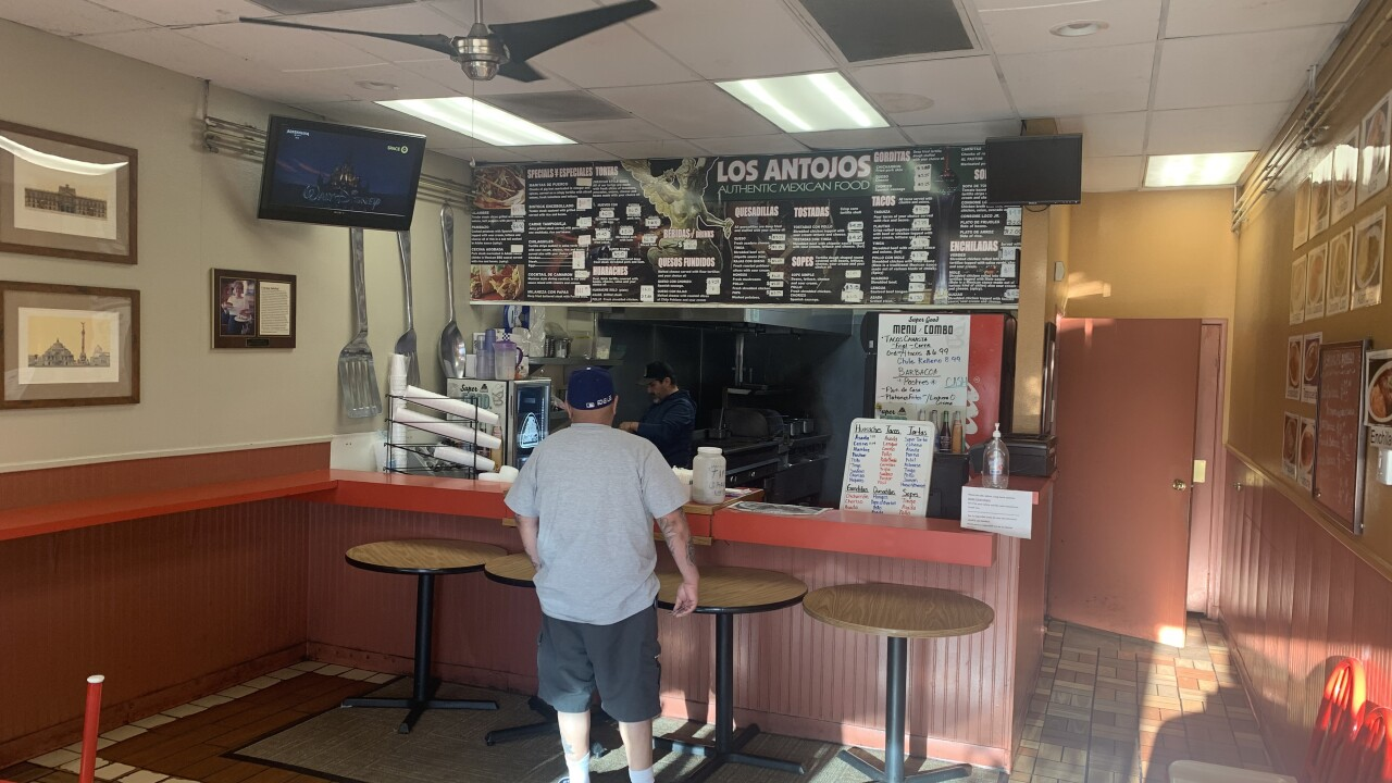 Los Antojos is open for business