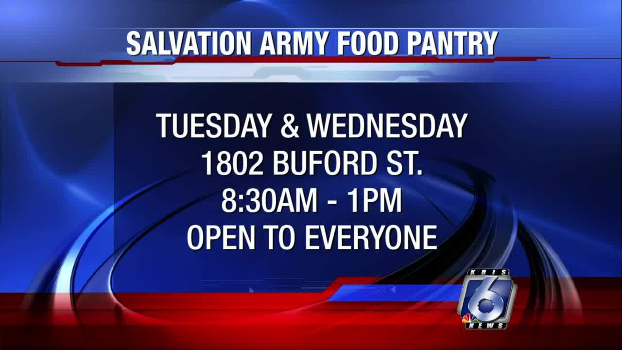 Salvation Army food pantry will open for the community