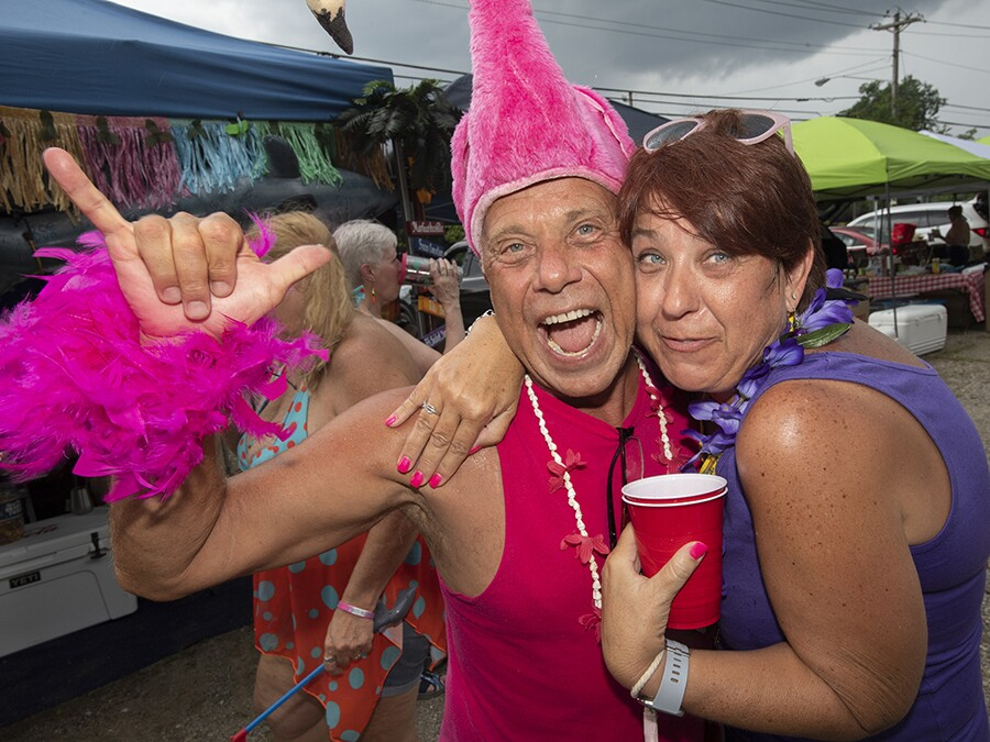 GALLERY: Parrotheads are flamingoing wild ahead of Jimmy Buffett's
