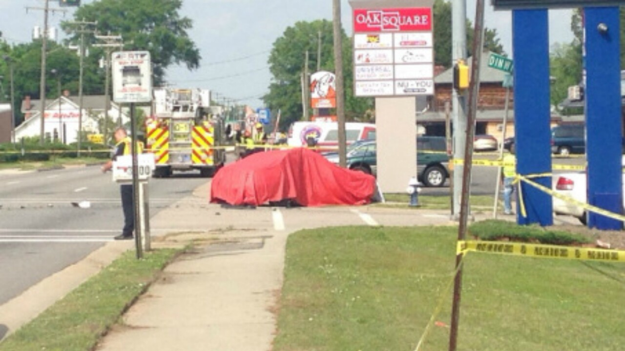 Two killed in crash after vehicle runs red light