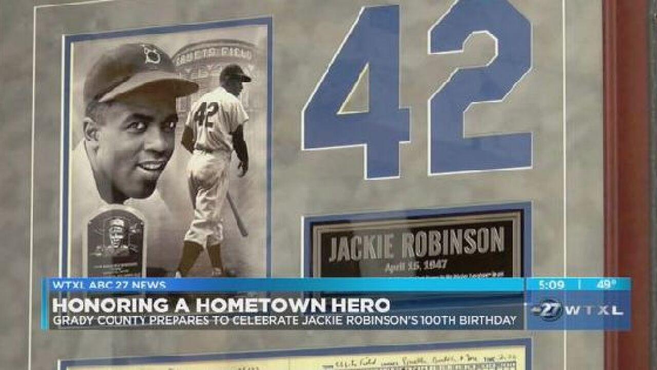 Grady County Prepares To Celebrate Jackie Robinsons 100th Birthday