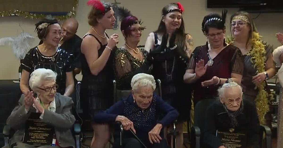 3 Nevada women celebrate their 100th birthdays together