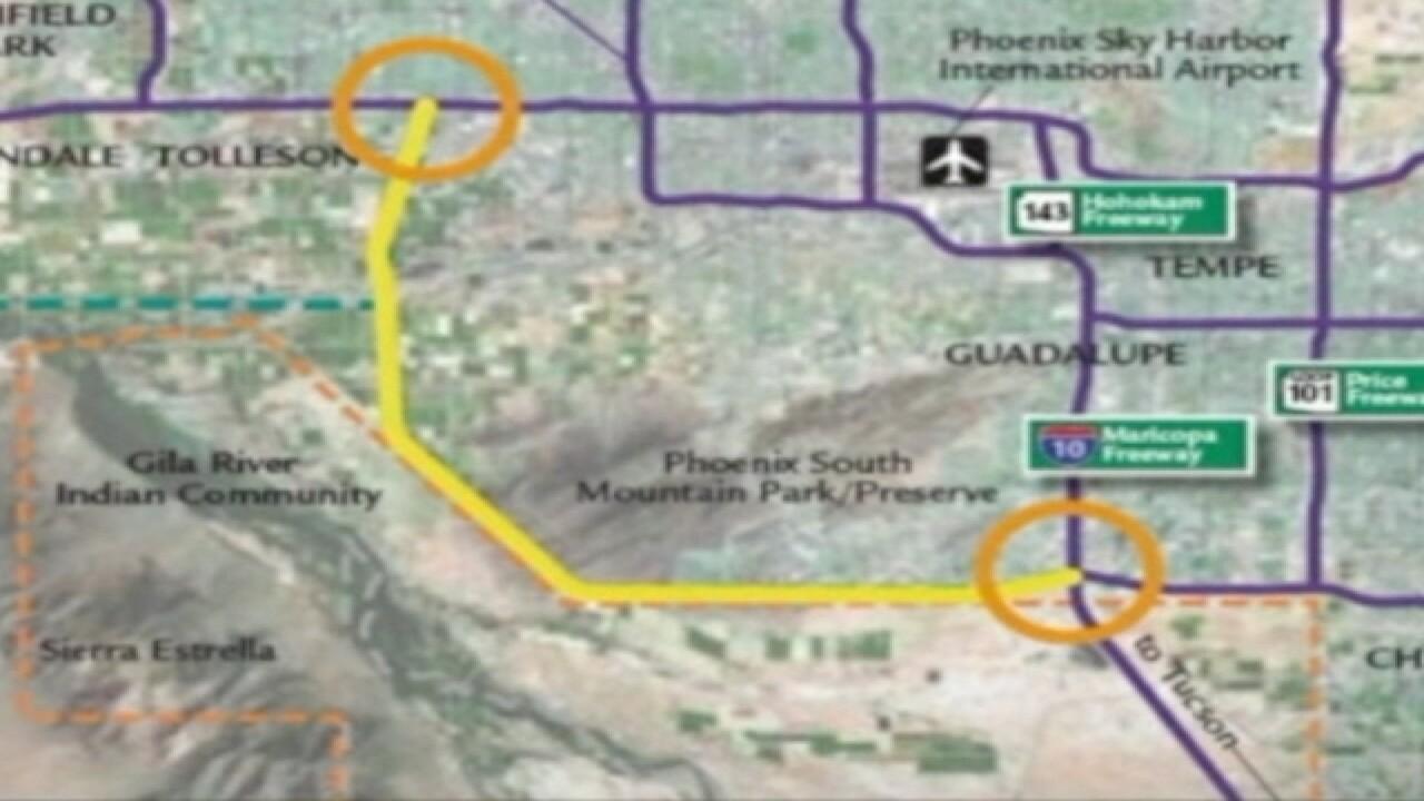 ADOT shifting Pecos Road to make freeway room