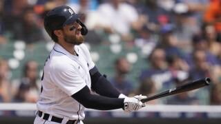 Eric Haase Orioles Tigers Baseball