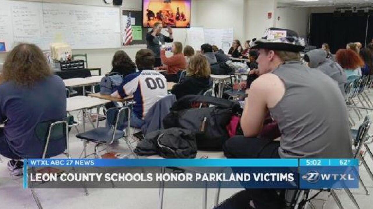 Leon County schools honor Parkland victims