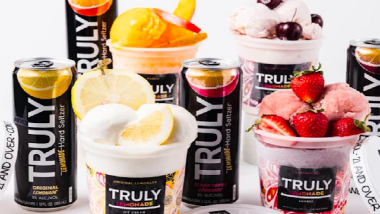 Hard Seltzer Brand Has A New Line Of Boozy Ice Creams And Sorbets