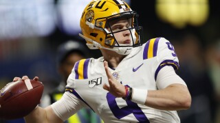 AP All-SEC Football Joe Burrow