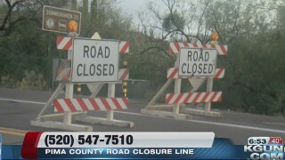 Road to Mount Lemmon closed