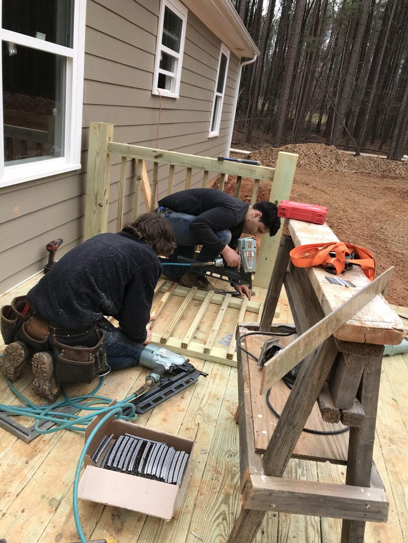 Louisa students build homes