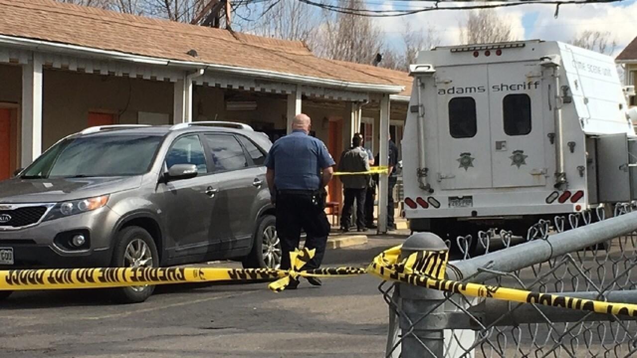Dead body found in motel on Federal Blvd