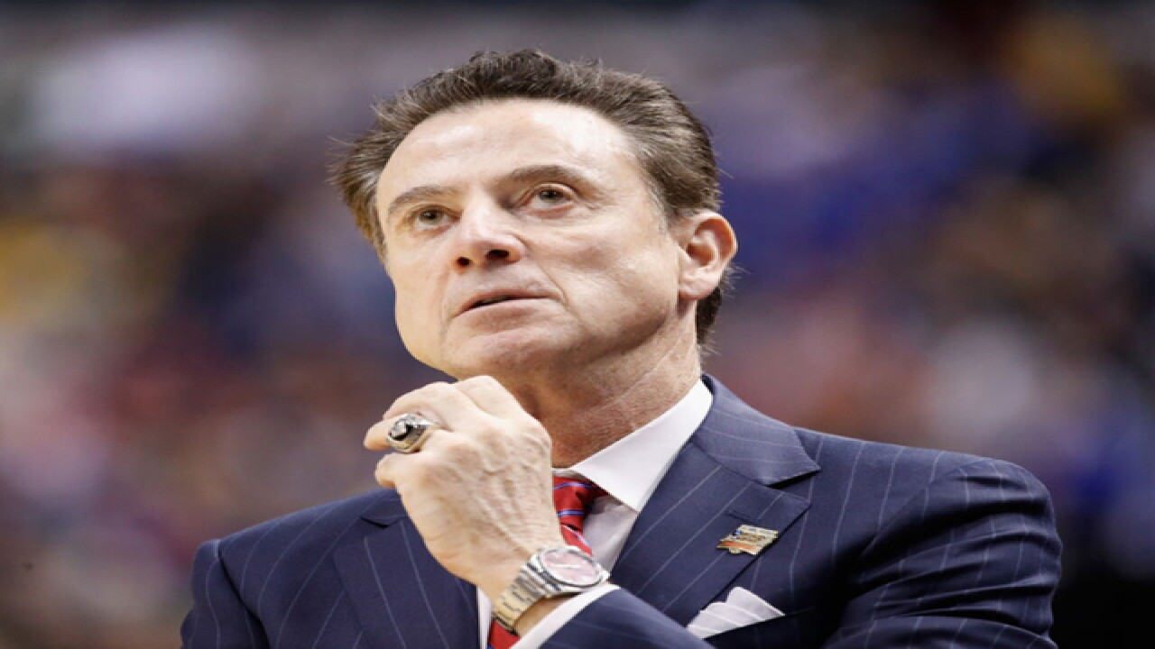 Source tells ESPN Rick Pitino is out as Louisville men's basketball coach