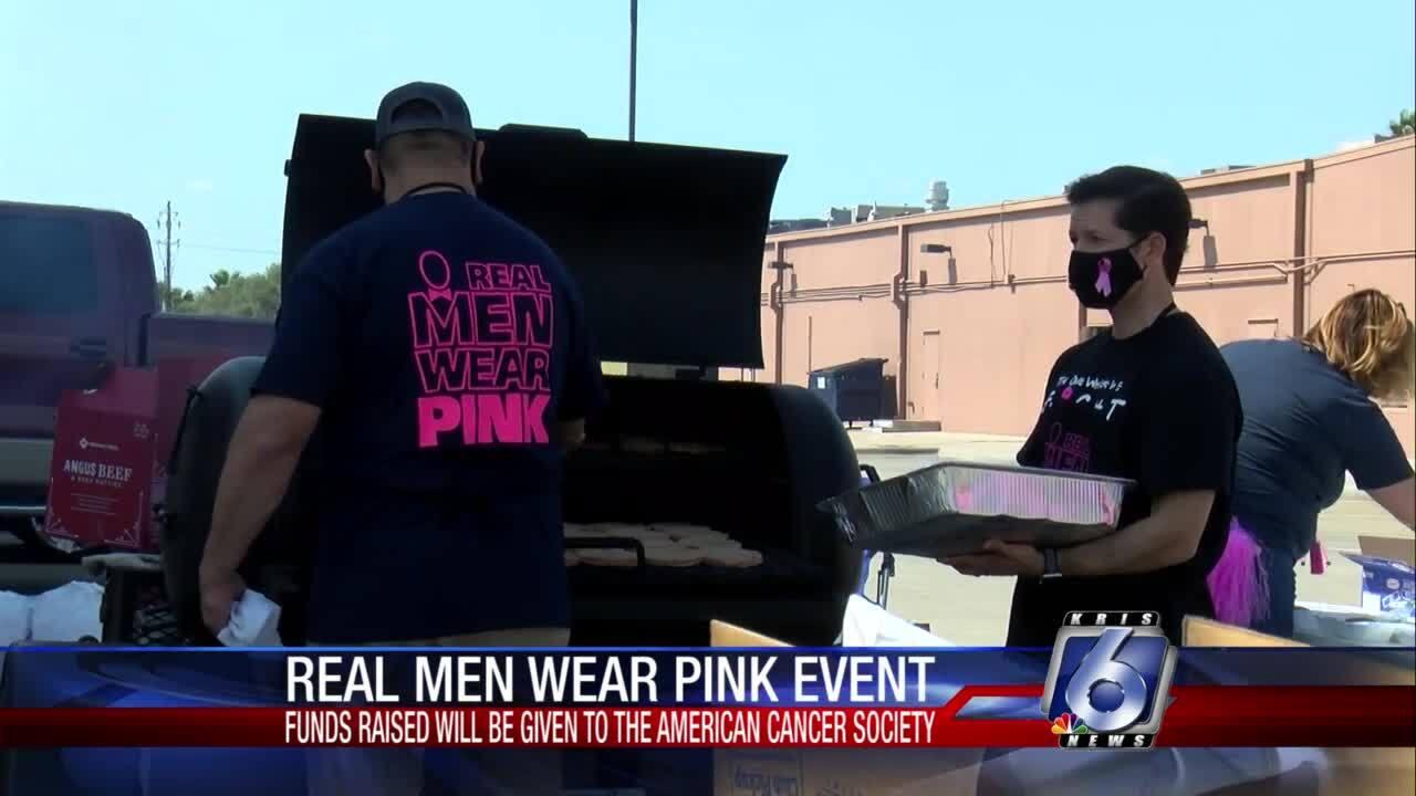 Real Men Wear Pink event starts Breast Cancer Awareness Month