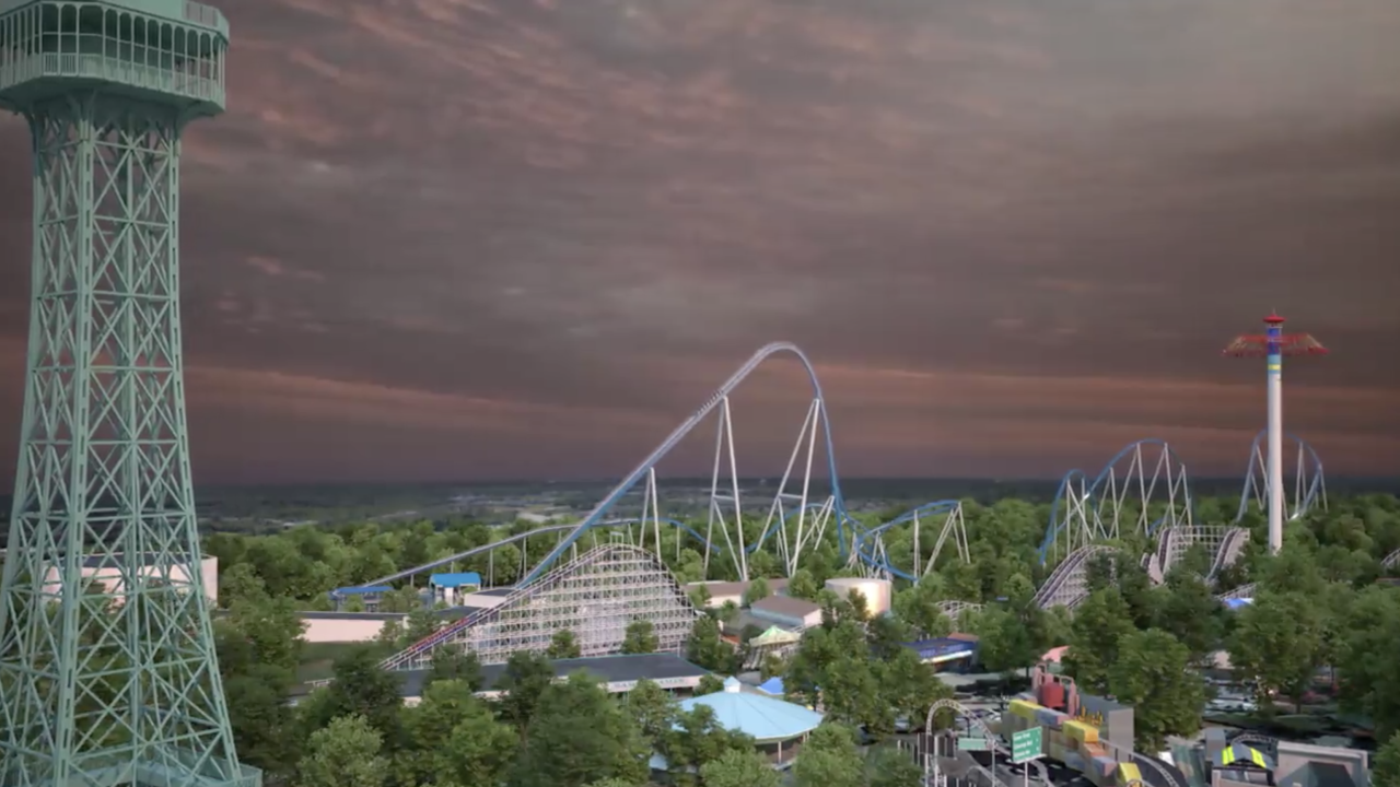 Kings Island announces opening date for giga coaster Orion