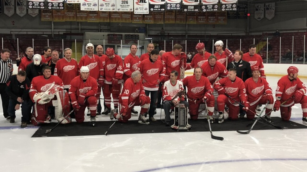 Red Wings alumni show out for Ted Lindsay Foundation