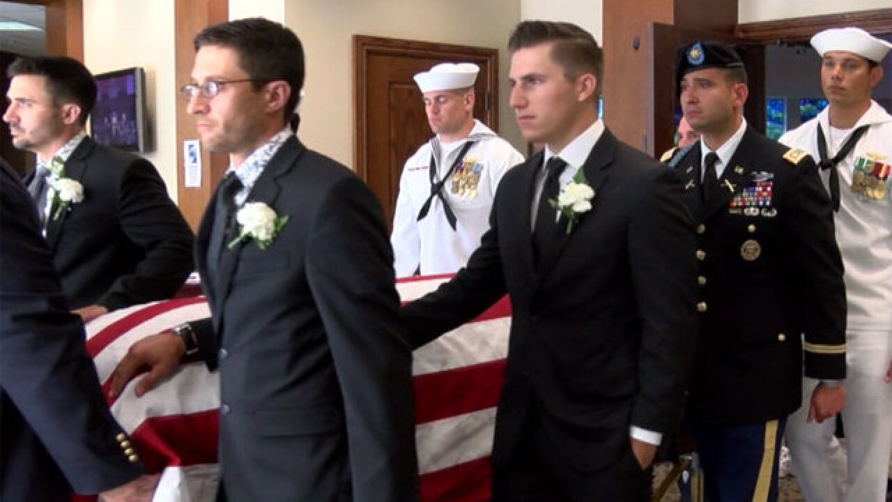 Vero Beach Navy sailor laid to rest
