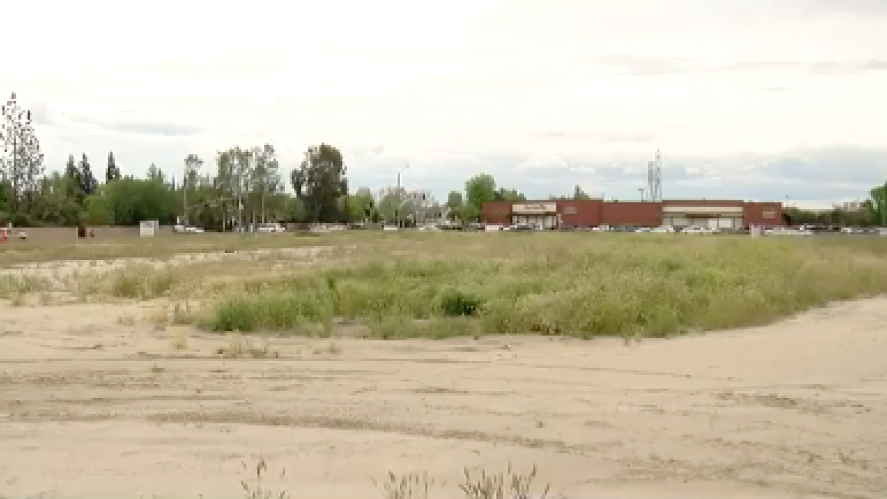 Empty lot for student housing proposal near CSUB
