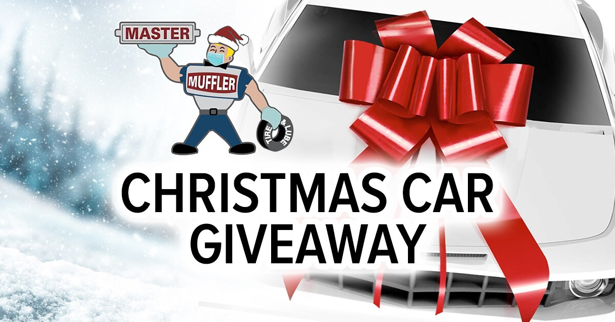 Master Muffler Christmas Car Giveaway Contest