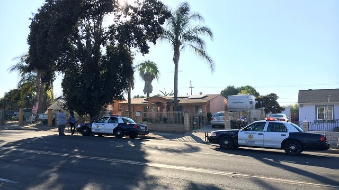 5-month-old baby found in trash can in San Diego