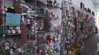 Yarn store among small businesses closing shop due to affects of tariffs