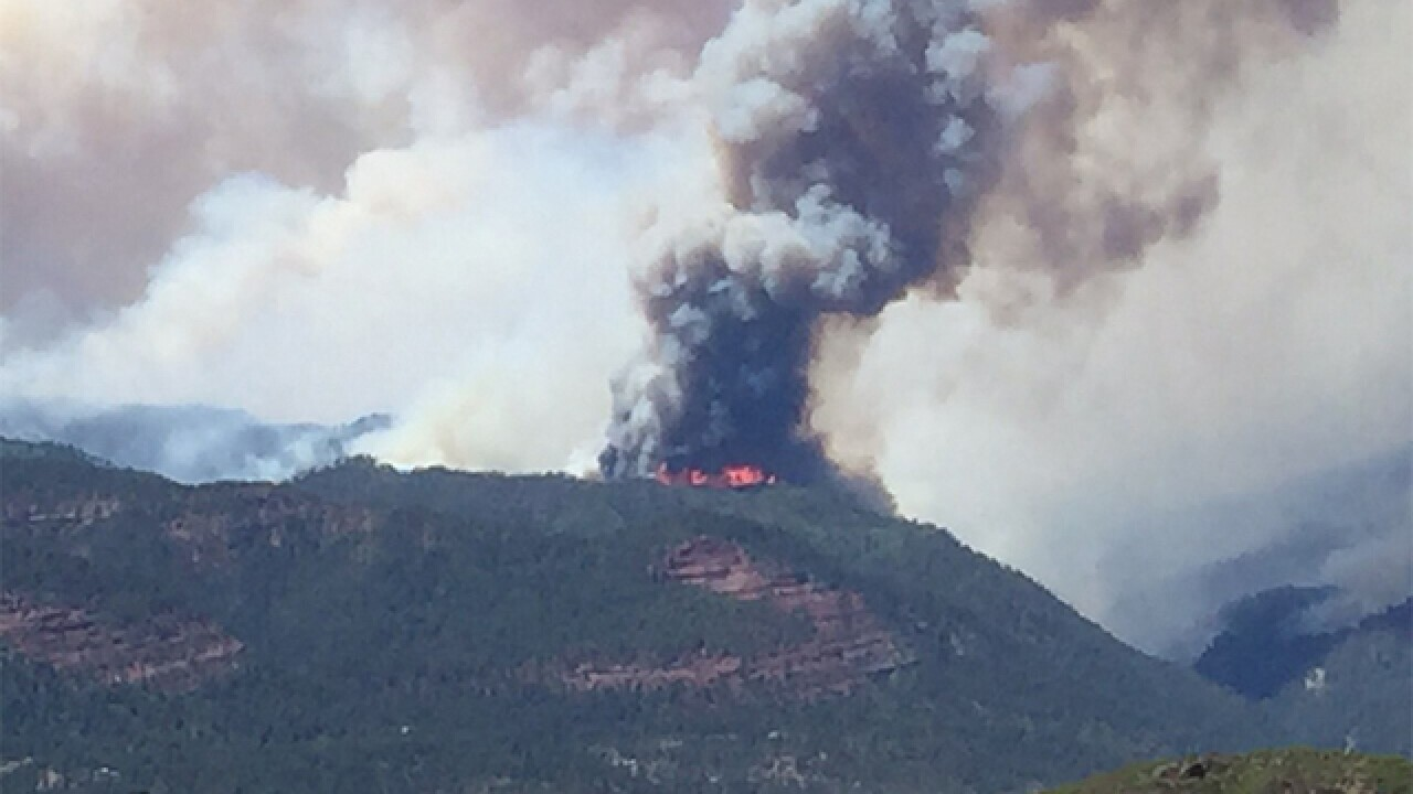 416 Fire nearly doubles in size in one day