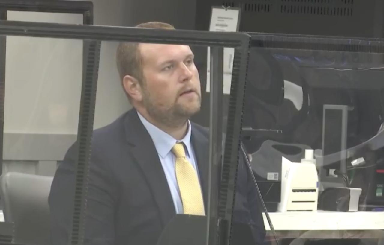 Zach Wester testifies
