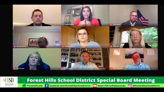No decision about High School's Redskins mascot name Forest Hills School Board