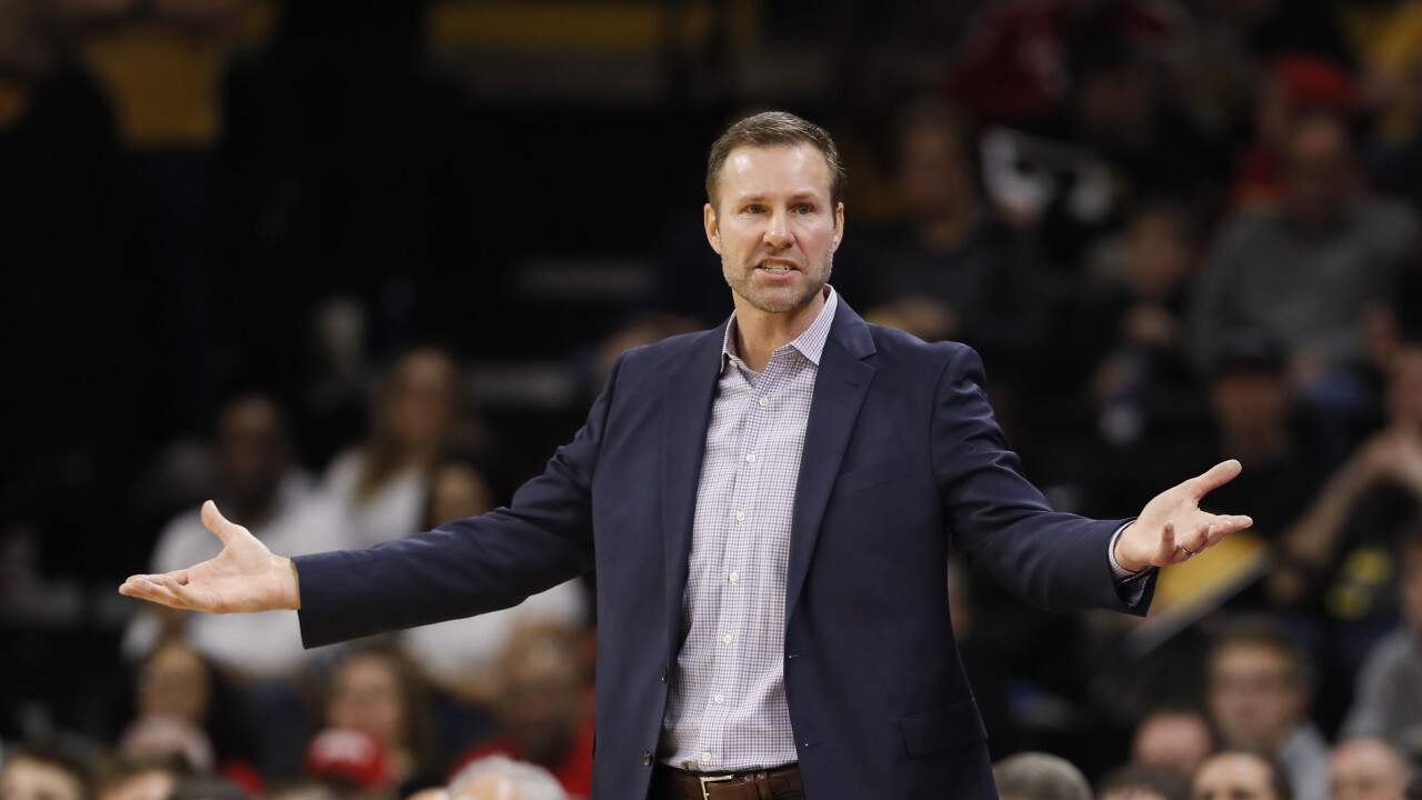 Fred Hoiberg frustrated
