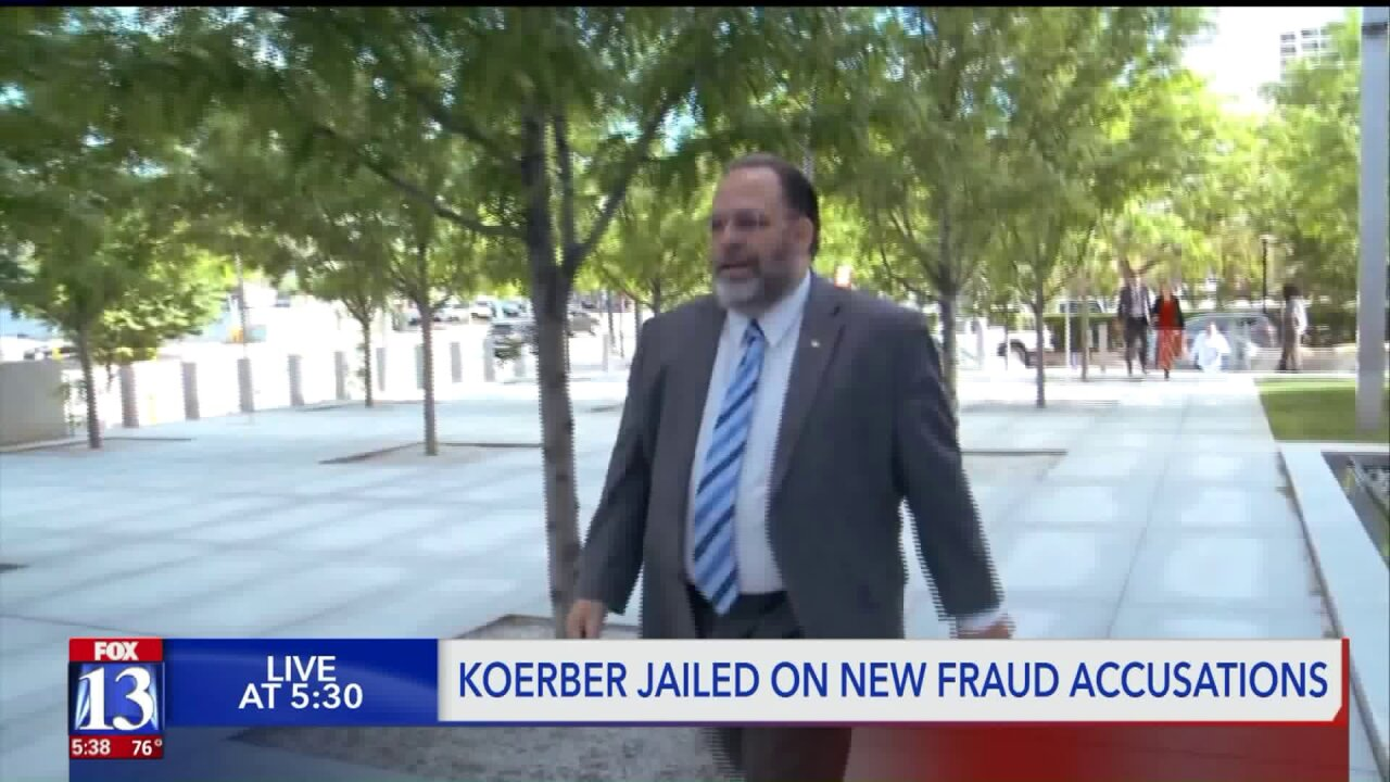 Utah's 'Free Capitalist' Rick Koerber jailed over new accusations of fraud involving an Oregon court