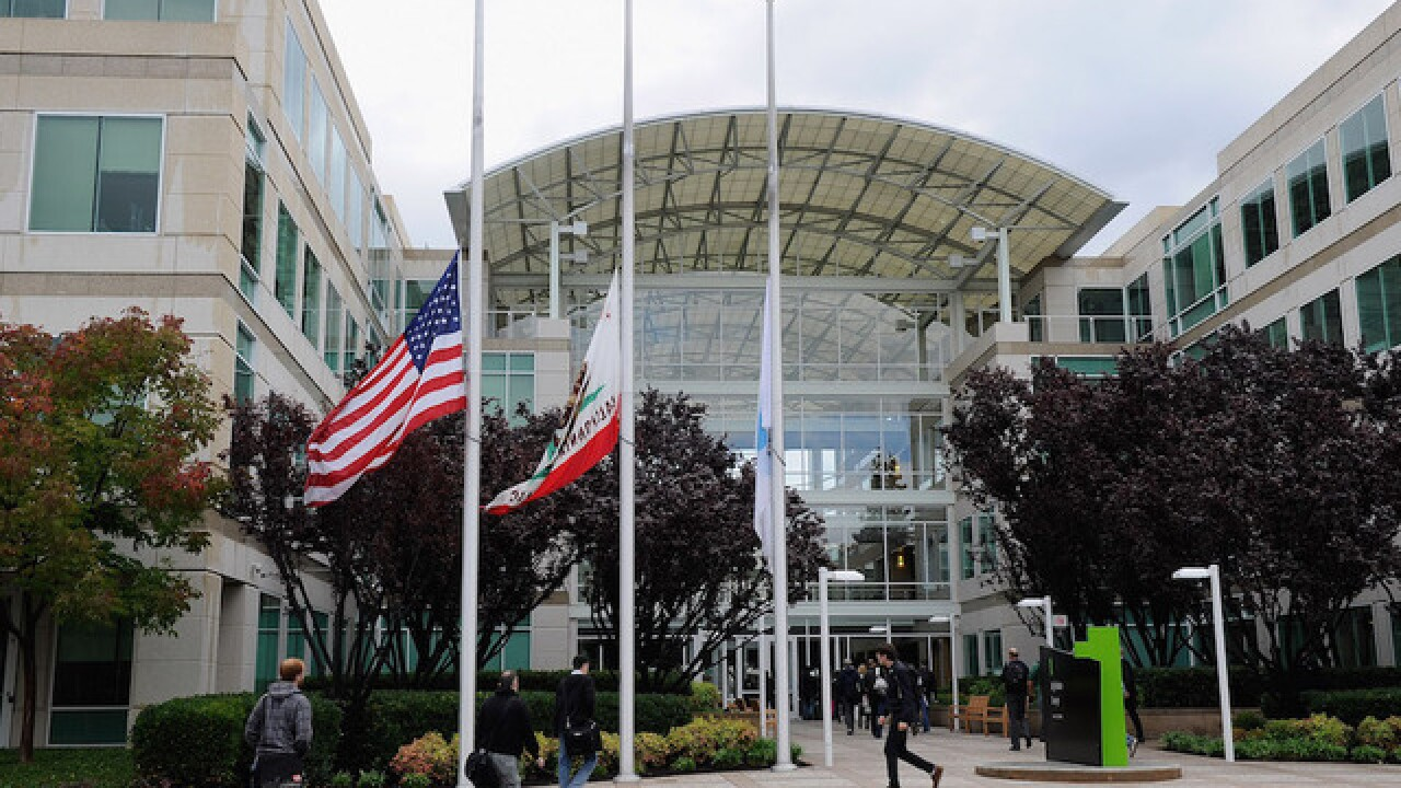 Man found dead in Apple headquarters conference room