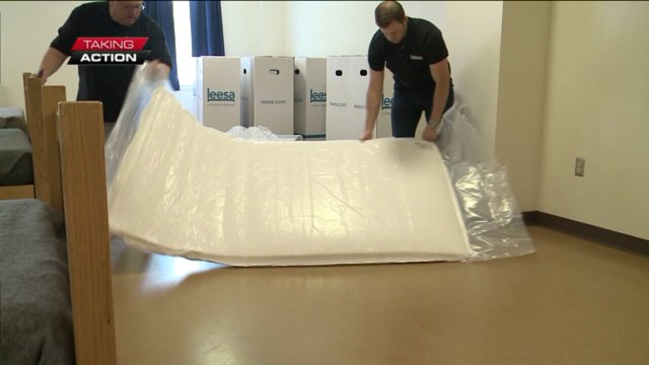 Virginia Beach-based mattress company takes action to provide forhomeless