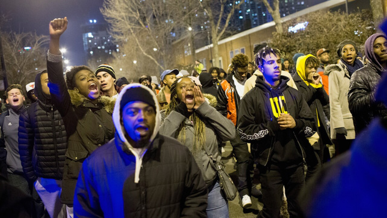 Chicago protests continue over teen's shooting