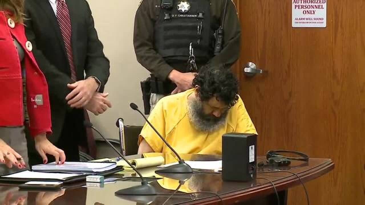 Man sentenced to death after bizarre hearing
