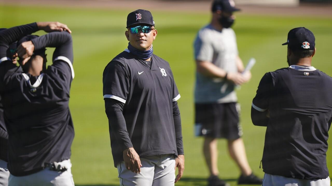 Miguel Cabrera Tigers Spring Baseball