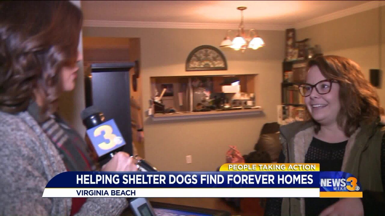 Virginia Beach woman fosters pups so they can be their adoptablebest